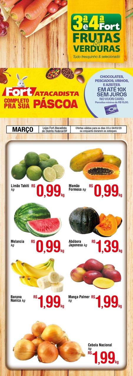 Ofertas supermercado FORT atacadista Verde vence 04-03-1