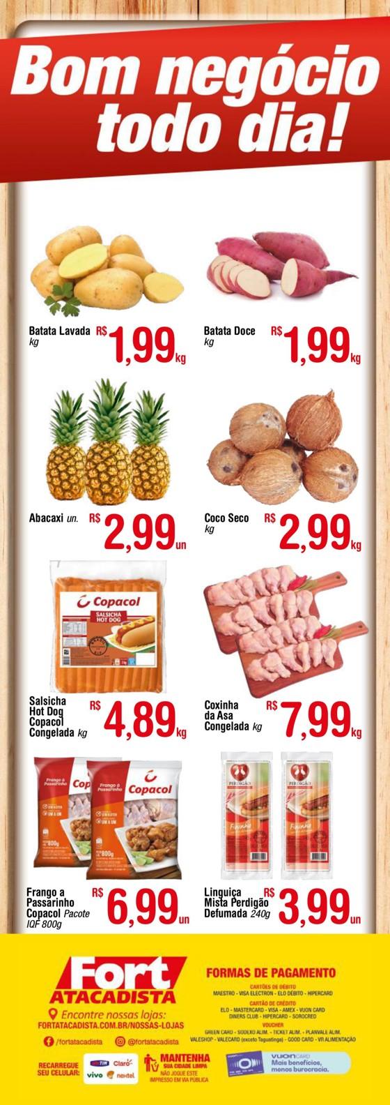 Ofertas supermercado FORT atacadista Verde vence 04-03-2