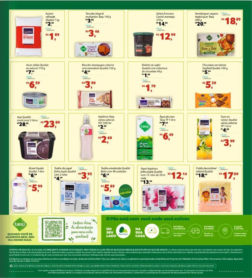 Ofertas supermercado Pão de açucar vence 05-03-2