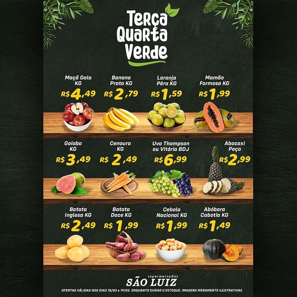 Ofertas supermercado SÂO LUIZ vence 19-02-1