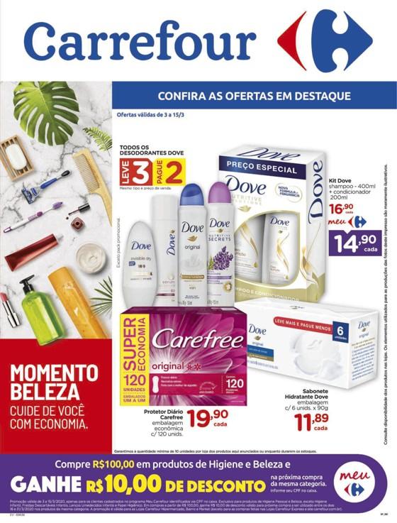 Ofertas supermercado Hipermercado Carrefour vence 15-03-01