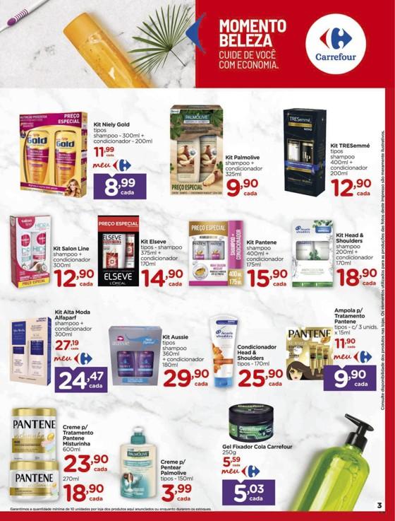 Ofertas supermercado Hipermercado Carrefour vence 15-03-03