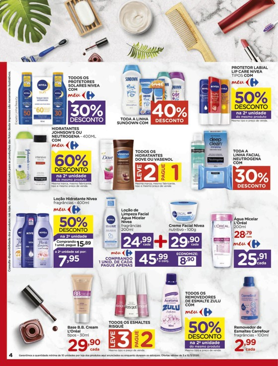 Ofertas supermercado Hipermercado Carrefour vence 15-03-04