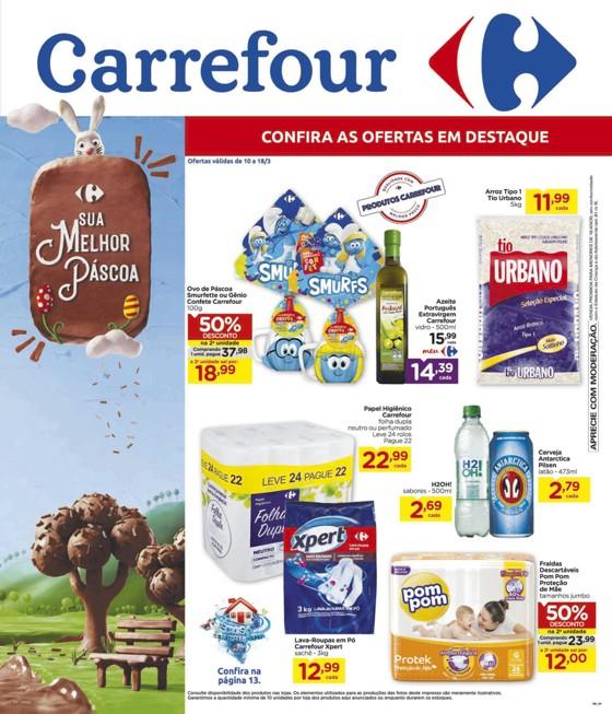 Ofertas supermercado Hipermercado Carrefour vence 18-03-01