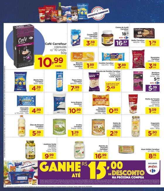 Ofertas supermercado Hipermercado Carrefour vence 18-03-04
