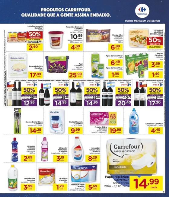 Ofertas supermercado Hipermercado Carrefour vence 18-03-05