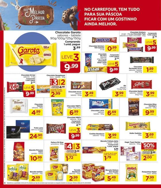 Ofertas supermercado Hipermercado Carrefour vence 18-03-06