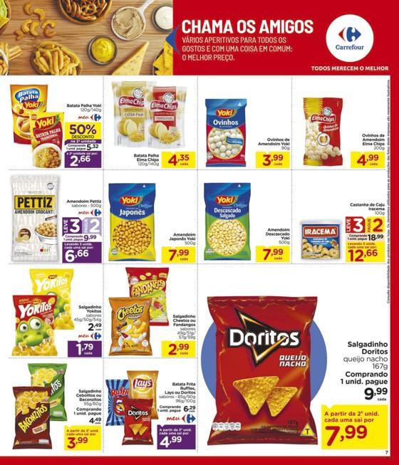 Ofertas supermercado Hipermercado Carrefour vence 18-03-07