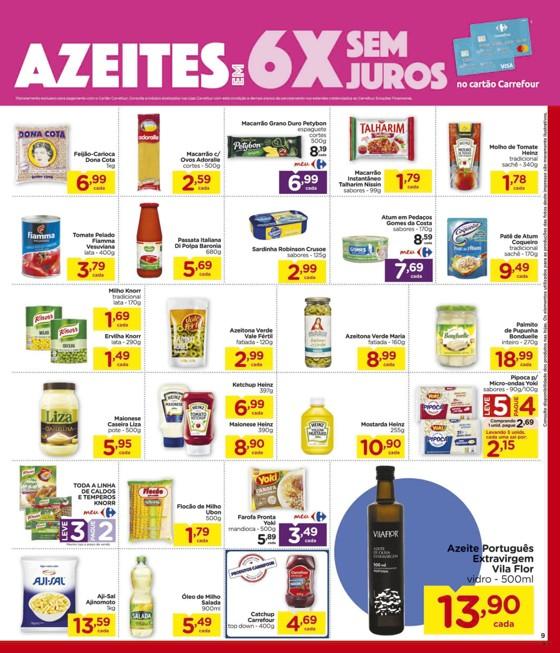 Ofertas supermercado Hipermercado Carrefour vence 18-03-09