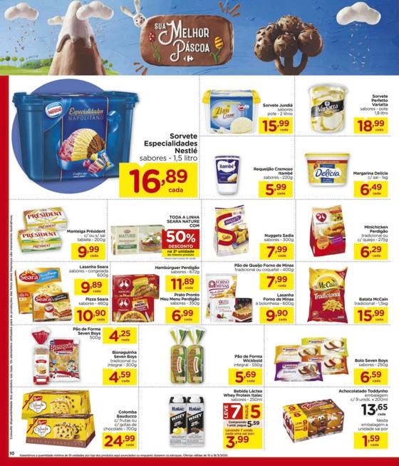 Ofertas supermercado Hipermercado Carrefour vence 18-03-10