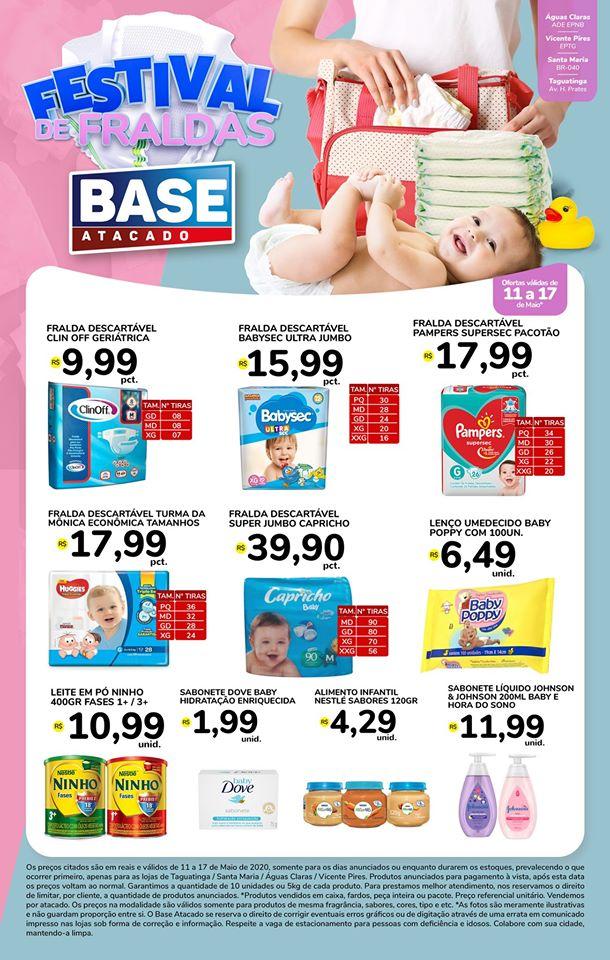 Ofertas de supermercado BASE atacado vence 17-05-1