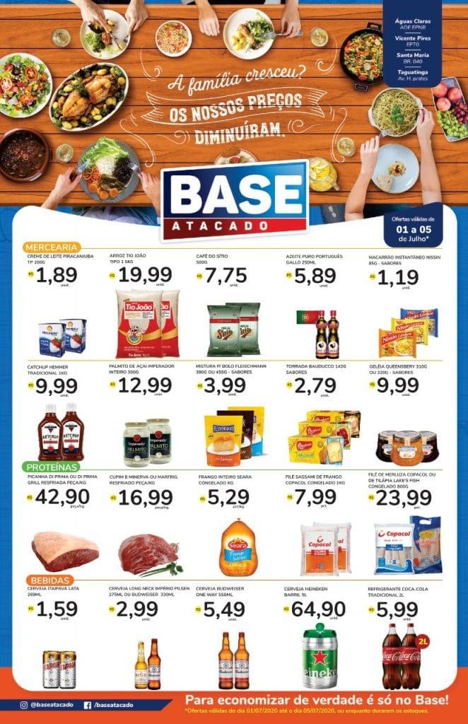 Ofertas de supermercado BASE atacado vence 05-07-1