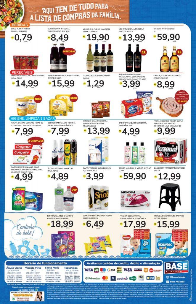Ofertas de supermercado BASE atacado vence 05-07-2