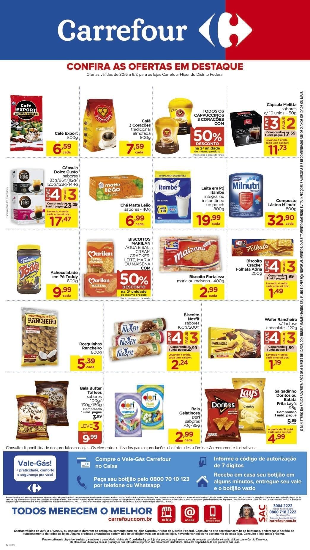 Ofertas supermercado Hipermercado Carrefour vence 06-07-02