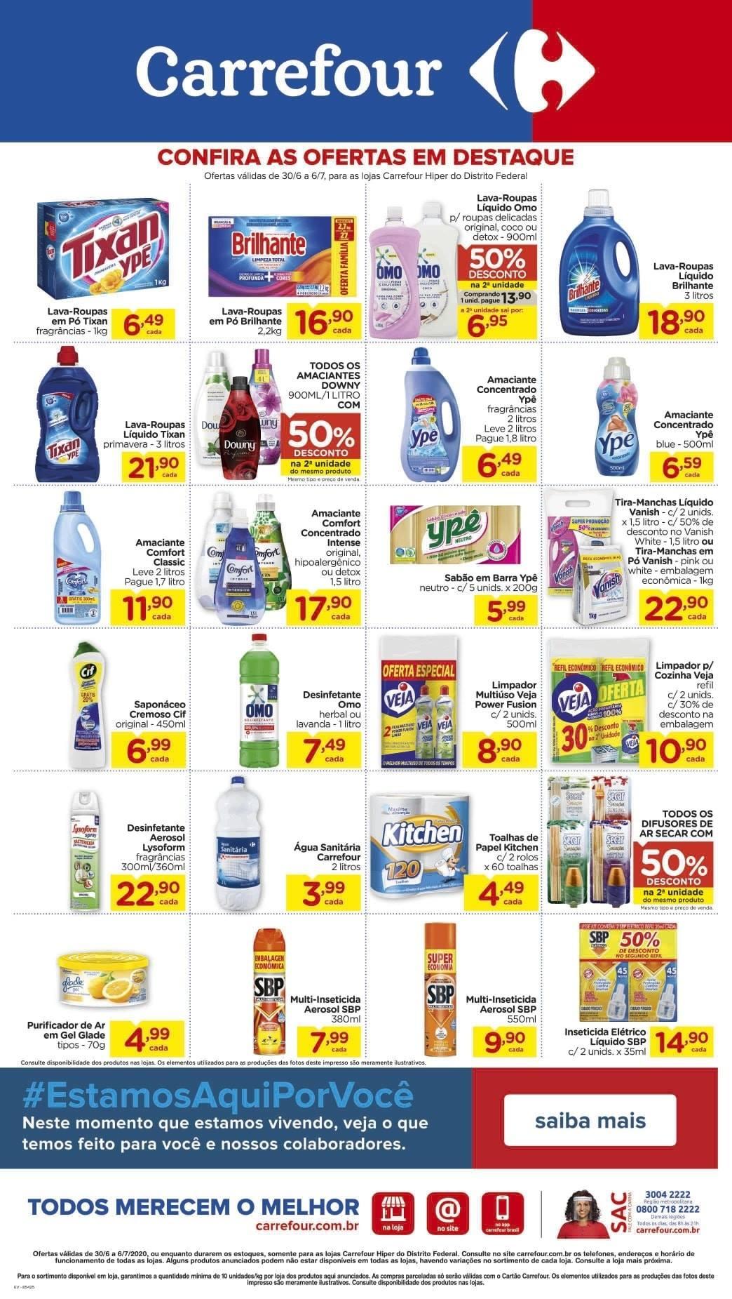 Ofertas supermercado Hipermercado Carrefour vence 06-07-07