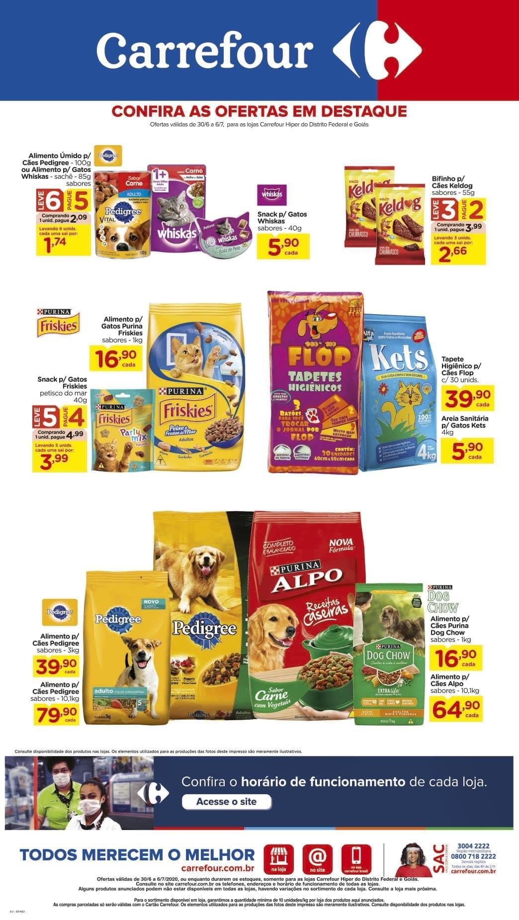 Ofertas supermercado Hipermercado Carrefour vence 06-07-10