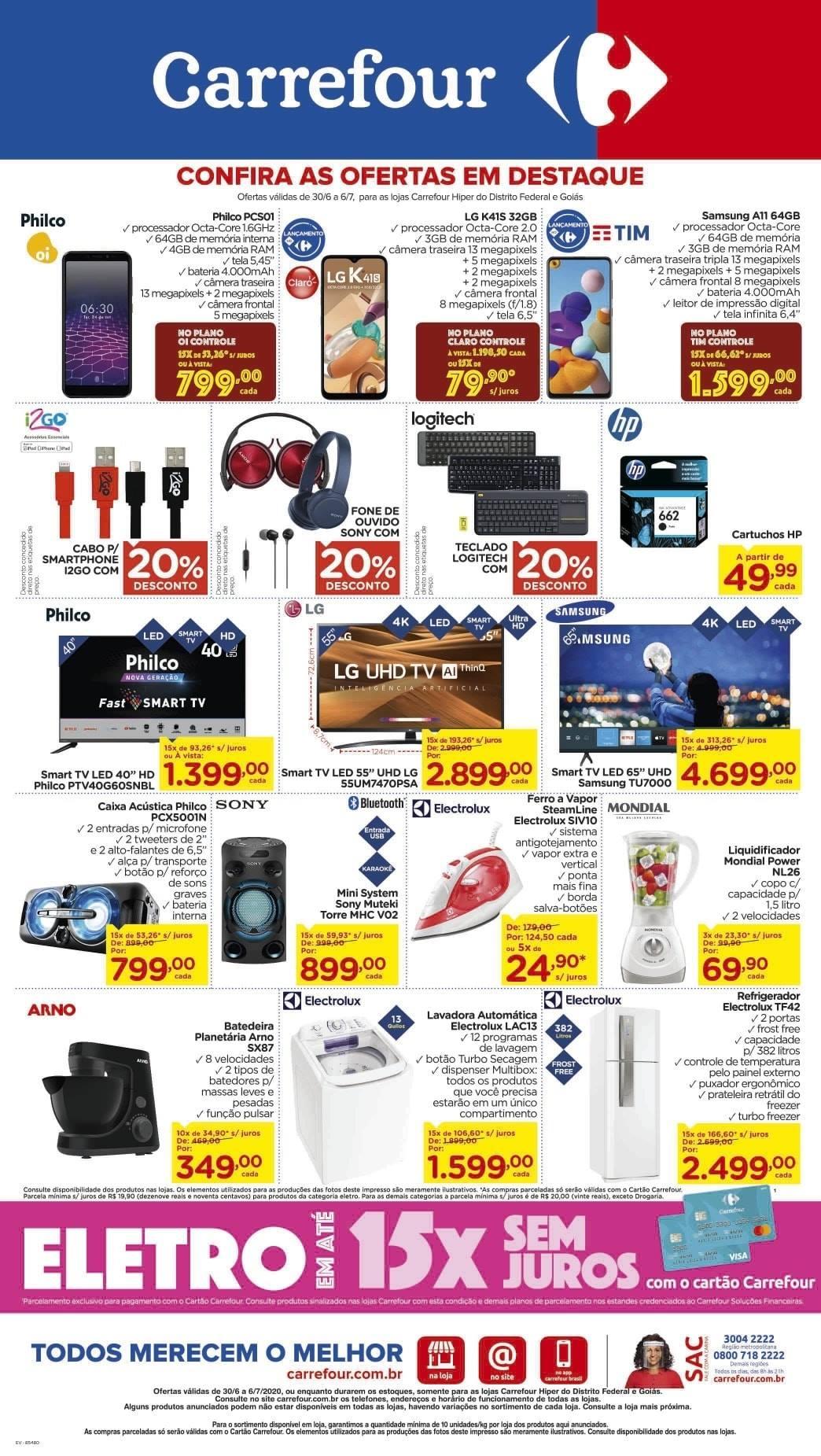 Ofertas supermercado Hipermercado Carrefour vence 06-07-12