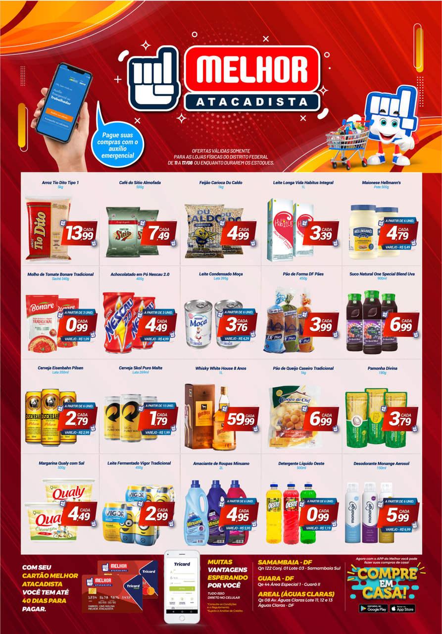 Ofertas de supermercado Melhor Atacadista vence 17-08-01