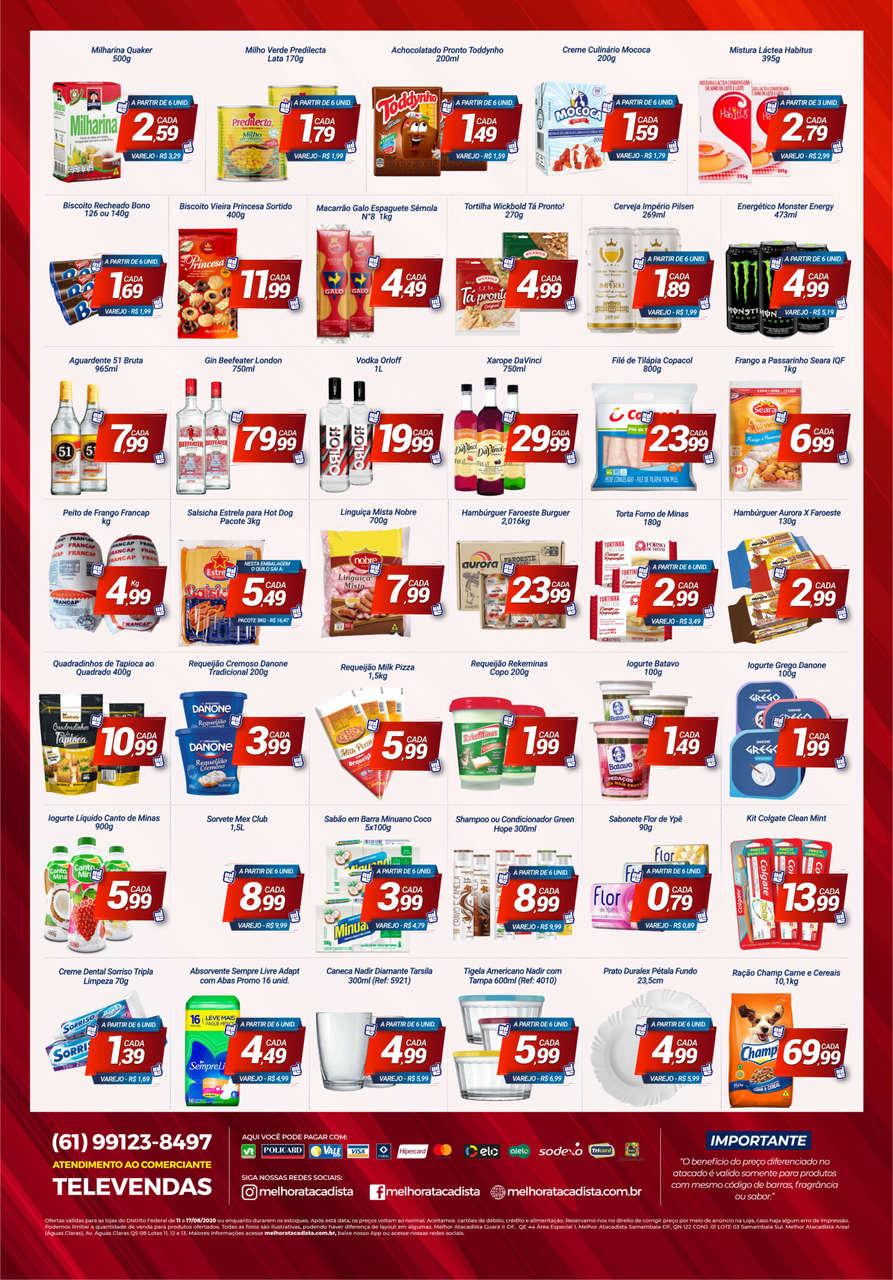 Ofertas de supermercado Melhor Atacadista vence 17-08-02