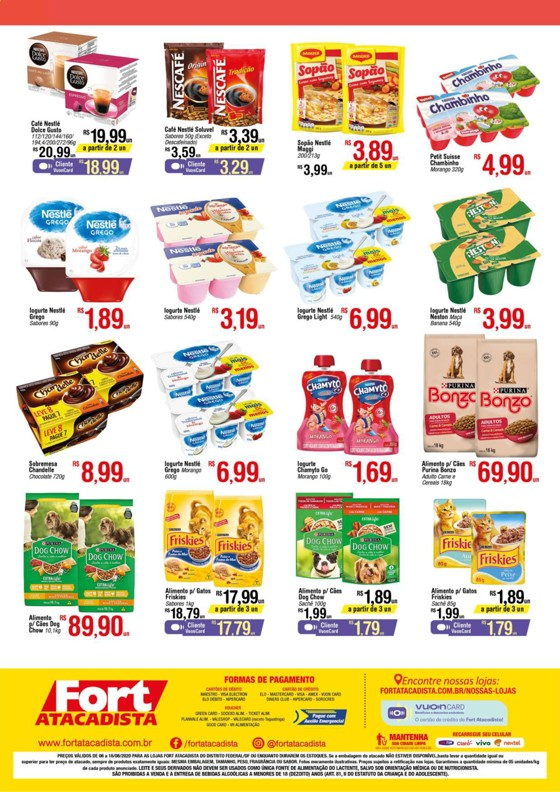 Ofertas supermercado FORT atacadista vence 16-08-2