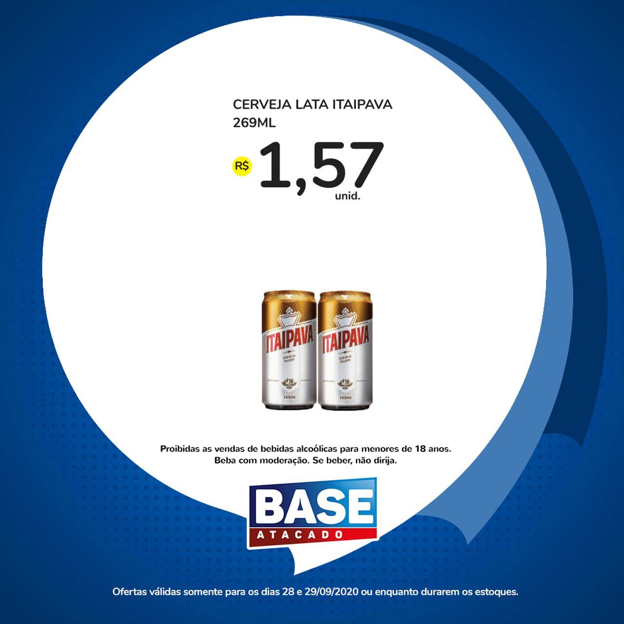 Ofertas de supermercado BASE atacado segunda e terça de super ofertas vence 29-09-10