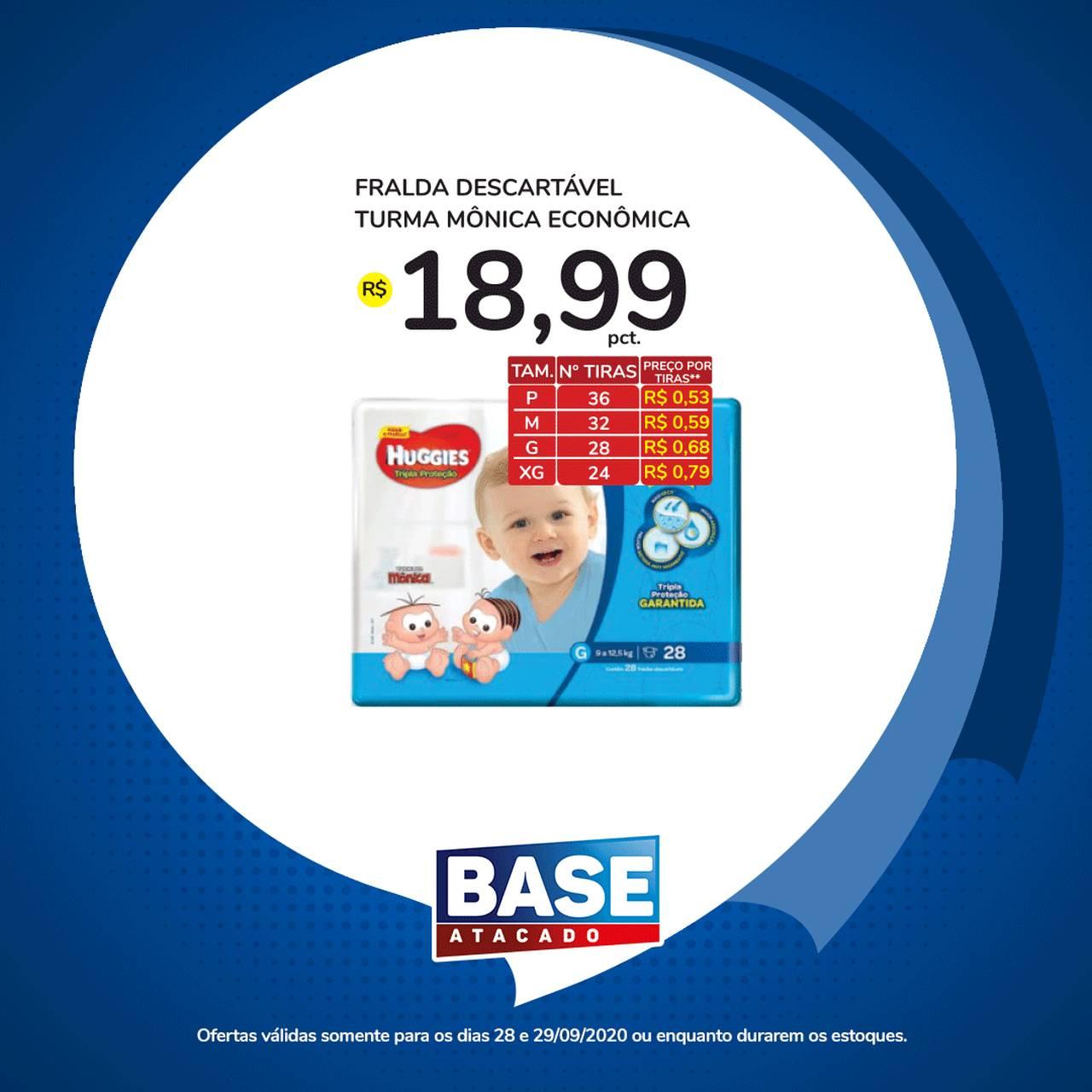Ofertas de supermercado BASE atacado segunda e terça de super ofertas vence 29-09-3