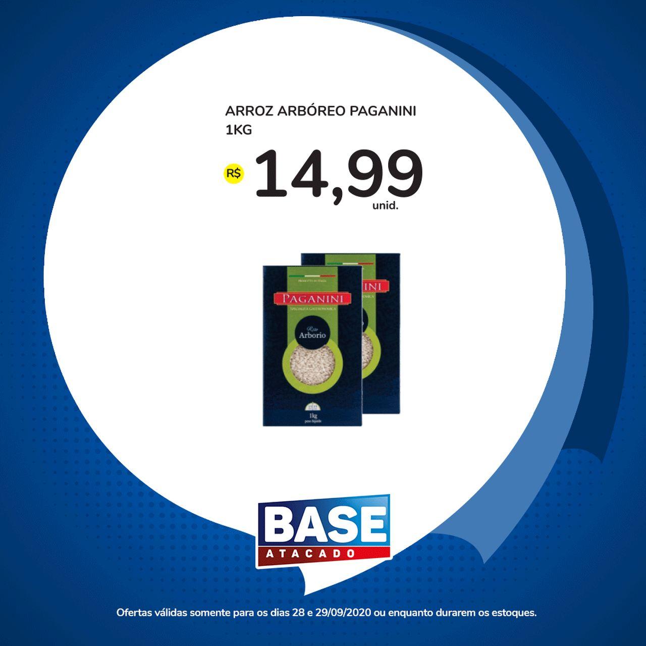 Ofertas de supermercado BASE atacado segunda e terça de super ofertas vence 29-09-6