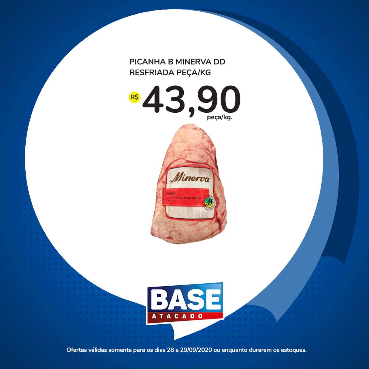 Ofertas de supermercado BASE atacado segunda e terça de super ofertas vence 29-09-7