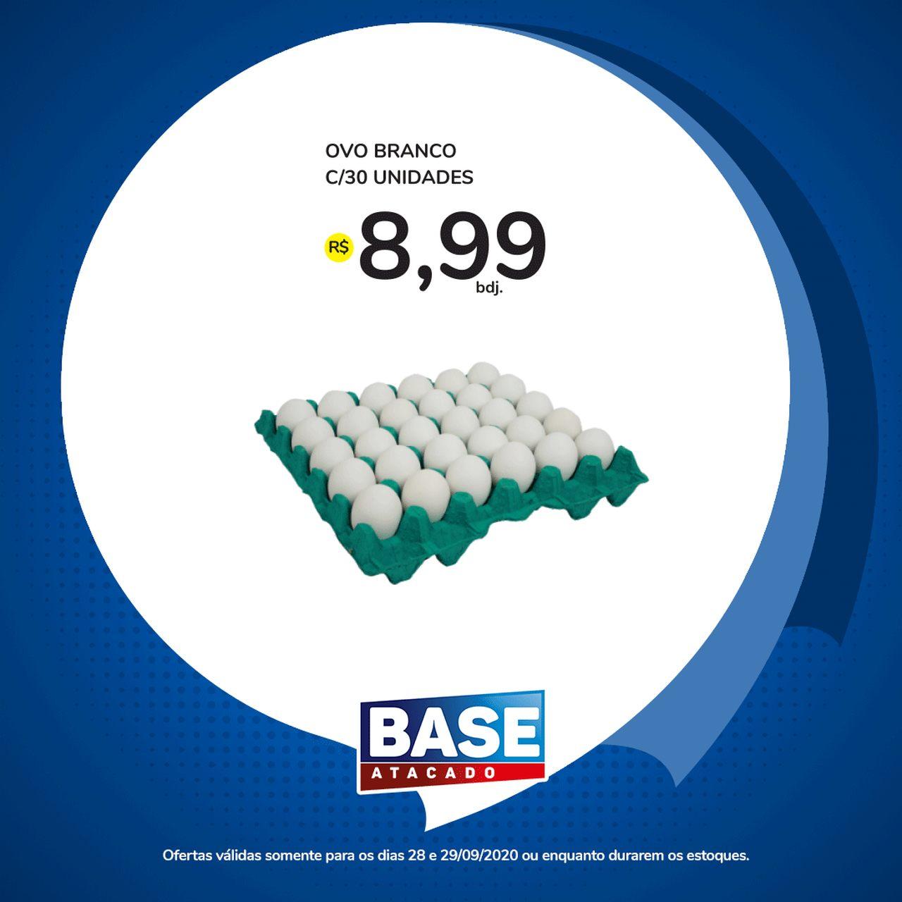 Ofertas de supermercado BASE atacado segunda e terça de super ofertas vence 29-09-8