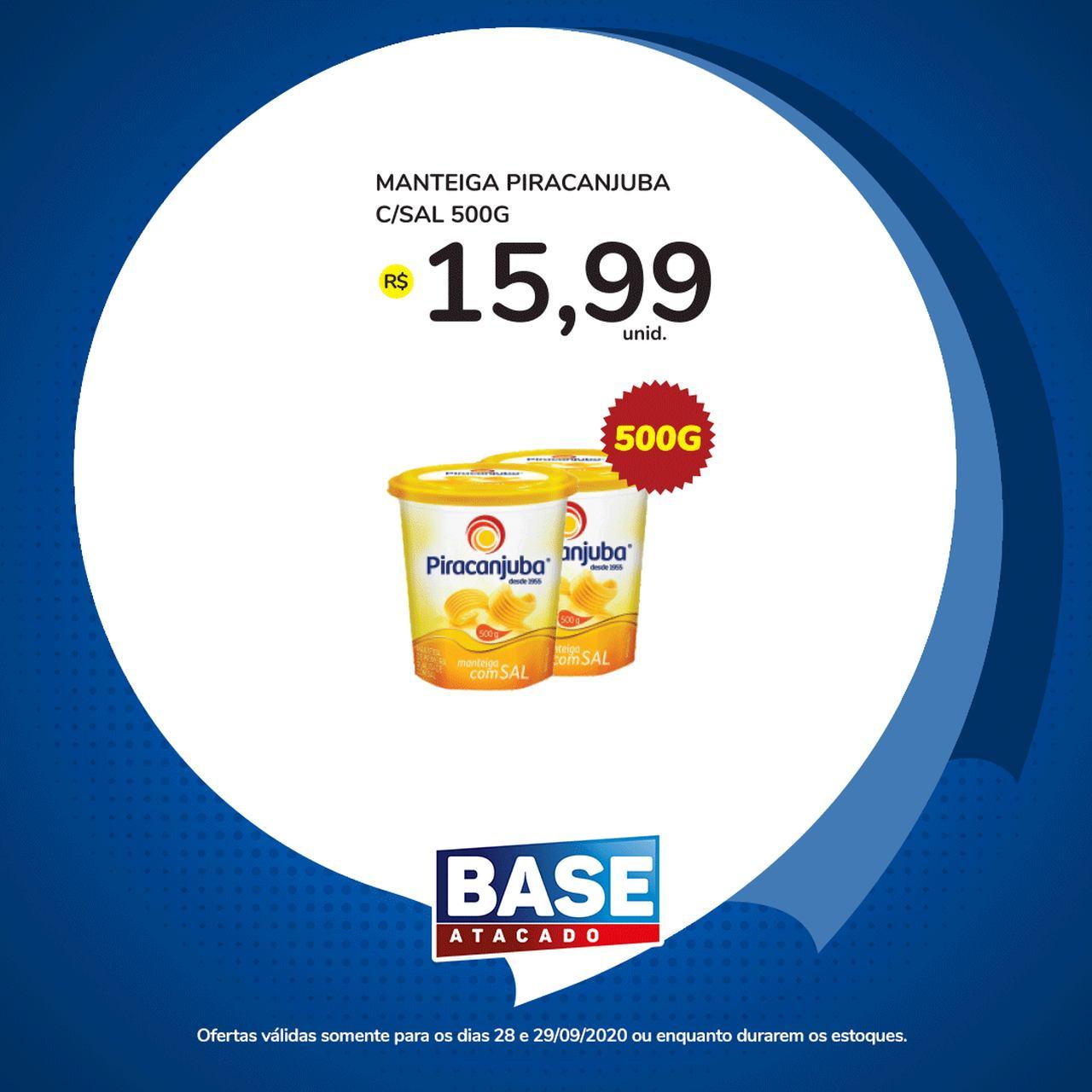 Ofertas de supermercado BASE atacado segunda e terça de super ofertas vence 29-09-9